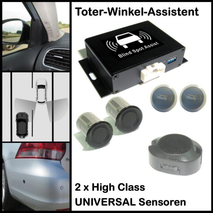 Toter-Winkel-Assistent mit 2 x High Class UNIVERSAL Sensoren / Spurwechsel-Assistent / Blind Spot Assist-0