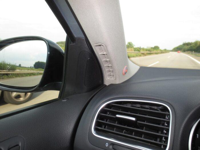 Toter-Winkel-Assistent mit 2 x High Class UNTERBAU Sensoren incl. GPS-Speed-Modul-954