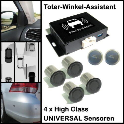 Toter-Winkel-Assistent mit 4 x Universal-High-Class-Sensoren-0