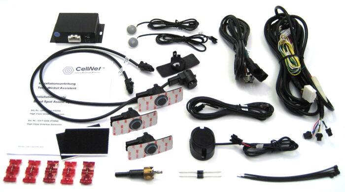 Toter-Winkel-Assistent mit 4 x UNTERBAU-High-Class-Sensoren-1015