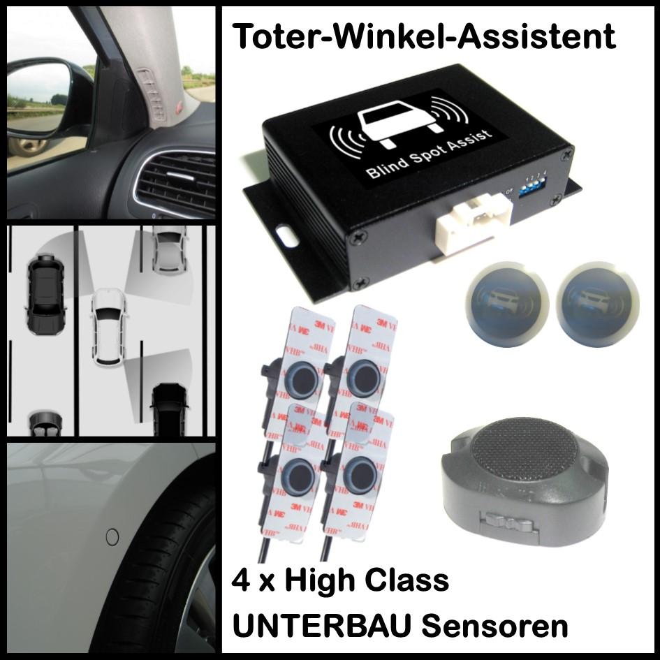 Toter-Winkel-Assistent mit 4 x UNTERBAU-High-Class-Sensoren-0