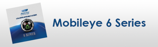 Mobileye 6´er Serie Flyer