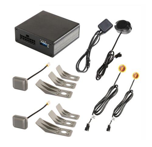 Toter-Winkel-Assistent mit Radar-Sensoren incl. GPS-Speed-Modul - für KFZ bis 12m-0