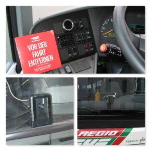 CellNet ® Einbaubeispiel Linienbus
